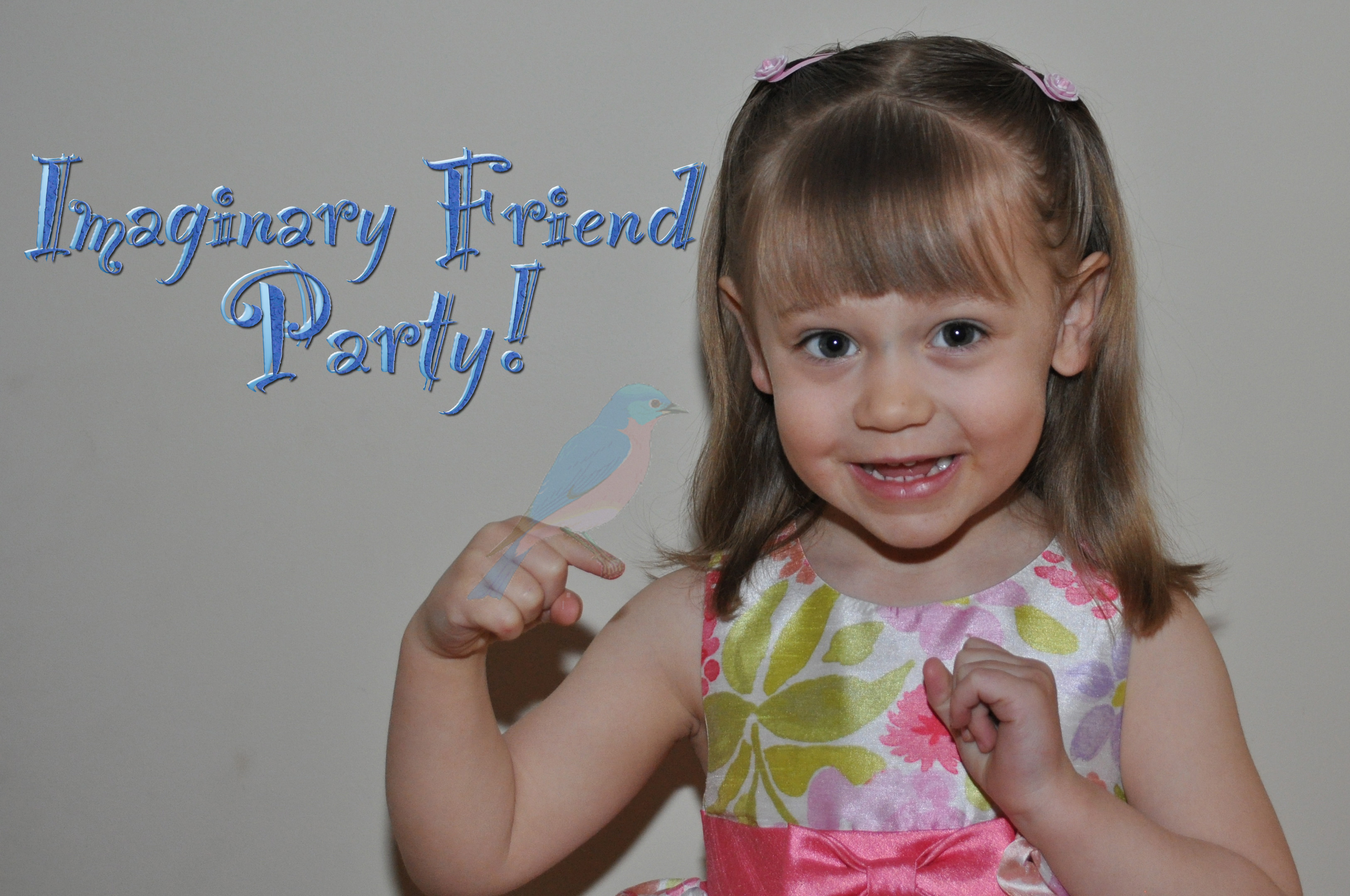 Imaginary Friend Bird-day Party
