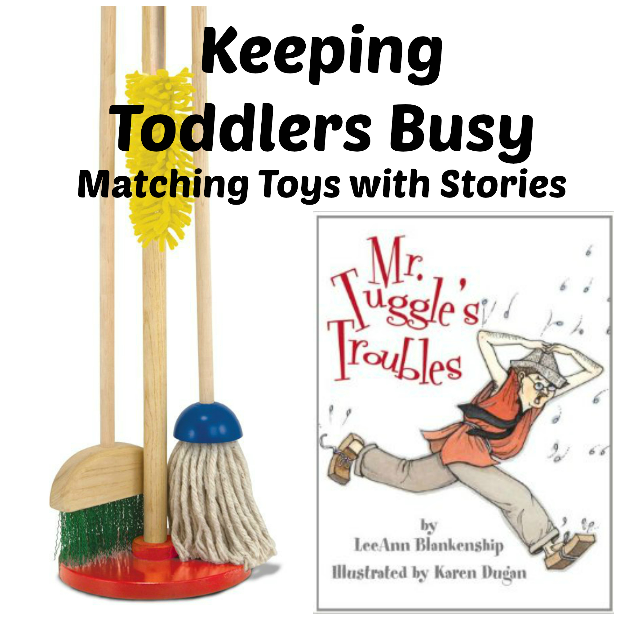 Keeping Toddlers Busy – Matching Children's Stories with Toys