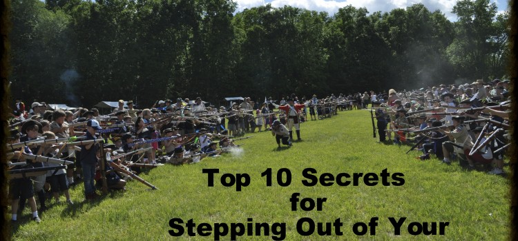 Top 10 Secrets for Stepping Out of your Comfort Zone