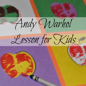 Warhol lesson for kids