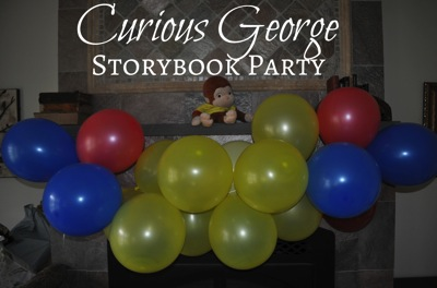 Curious George Storybook Party
