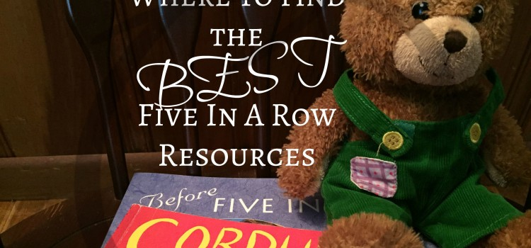 Where to find Five In A Row Resources