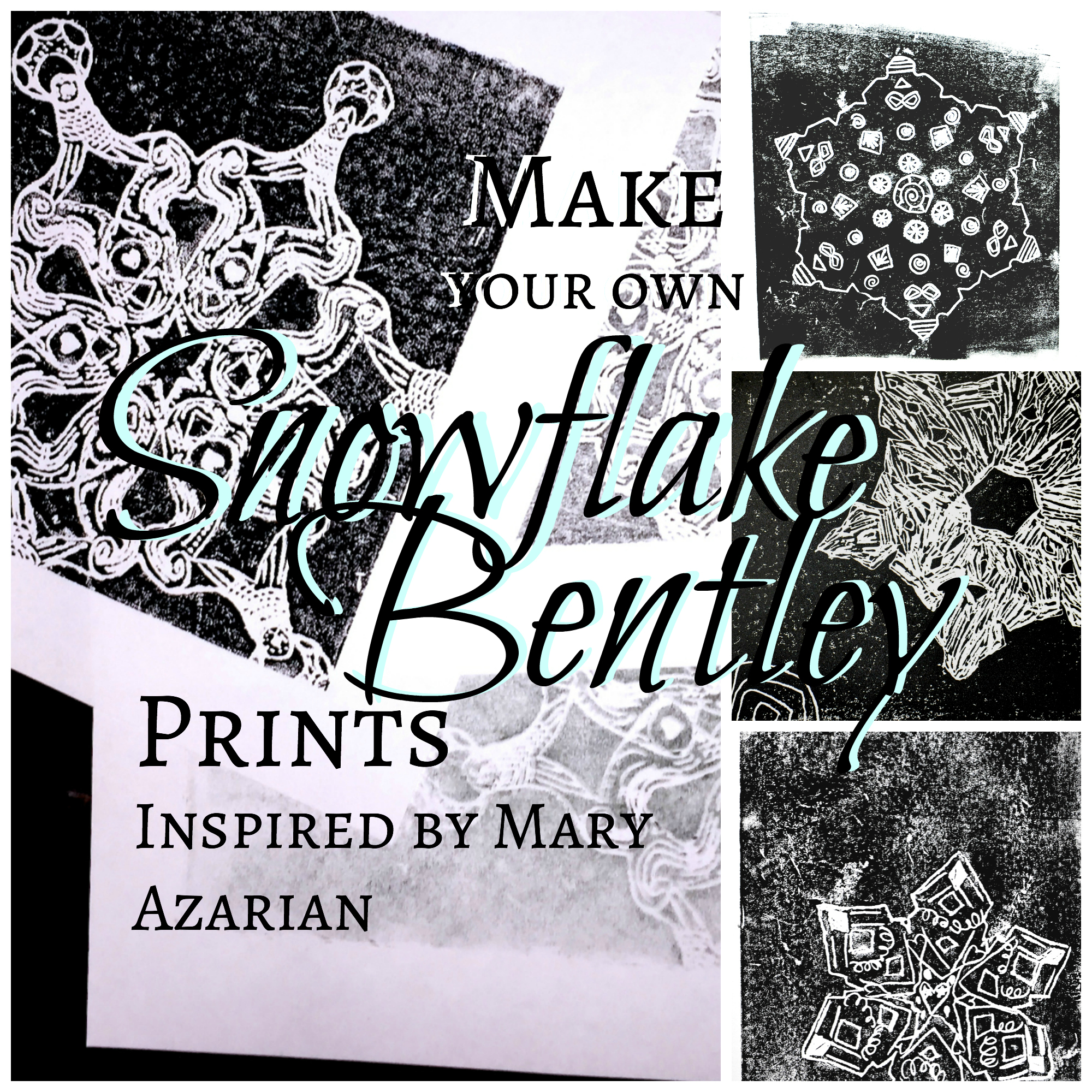 Snowflake Bentley Prints Inspired By Mary Azarian