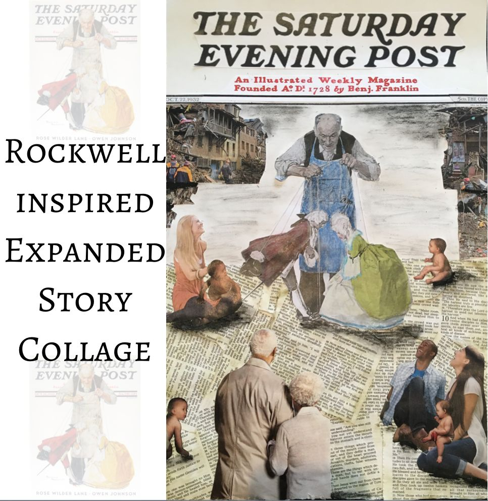 Rockwell expanded story collage