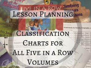 five-in-a-row-classification-all-volumes