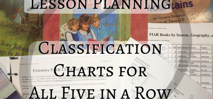 Five in a Row Classification Charts